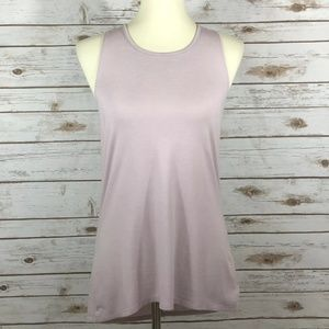 ATHLETA Sleeveless Crossback Hi Lo Tank Size:S